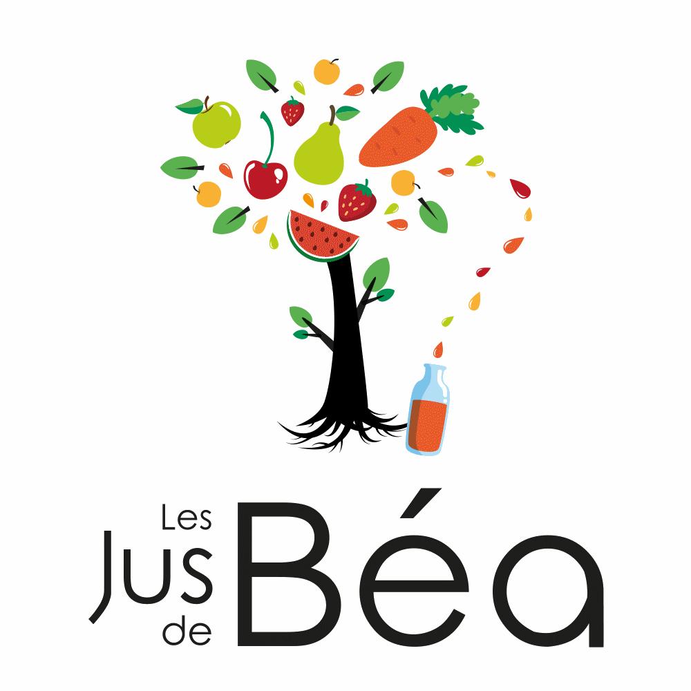 Logo des jus de BEA sur fond transparent